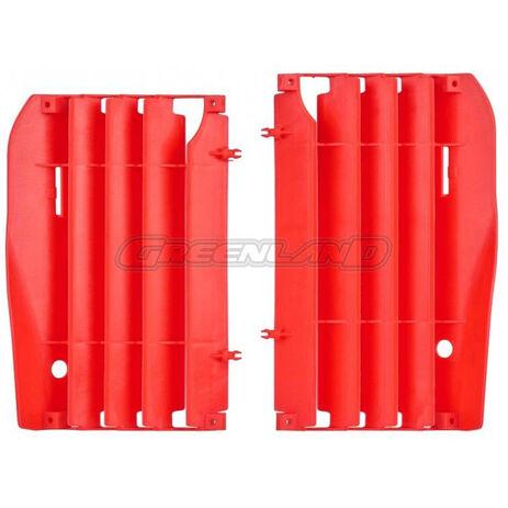 _Honda CRF 450 R Radiator Louver Kit 09-12 Red   8456400002   Greenland MX_