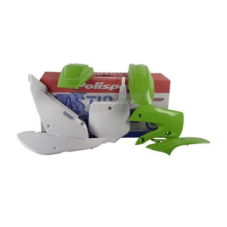 _Polisport Kawasaki KX 65 00-.. Plastic Kit OEM 11 | 90162-P | Greenland MX_