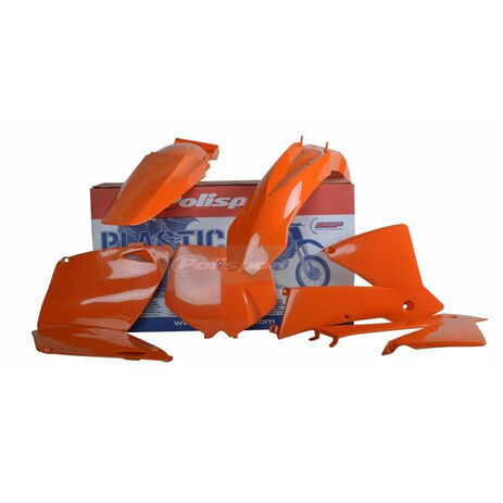 _Polisport KTM EXC/EXC-F 01-02 Plastic Kit Orange | 90652 | Greenland MX_