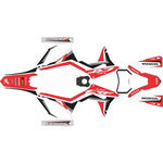 _Honda CRF 250/300/450/500 X 19-20 Full Sticker Kit   SK-CRFX1920RDWTBK-P   Greenland MX_