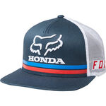 _Fox Honda Snapback Hat Navy | 22996-007 | Greenland MX_