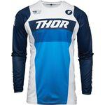 _Thor Pulse Racer Jersey White/Navy | 2910-617BAM-P | Greenland MX_