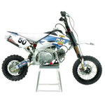 _Kit decals + seat cover TJ Honda CRF 50 Peak | KPKCRF50 | Greenland MX_