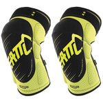 _Leatt 3DF 5.0 Knee Guards Lime/Black | LB501610043P | Greenland MX_