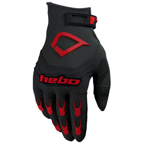 _Hebo Baggy Evo Gloves Black/Red | HE1128R | Greenland MX_