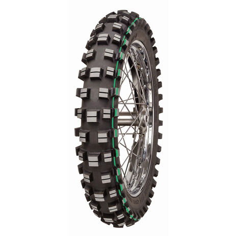 _Mitas XT-754 Super Light 120/90/18 Tire Green Stripe | 28022 | Greenland MX_