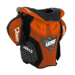 _Leatt Fusion 2.0 Youth Neck Support Orange/Black   LB101401000P   Greenland MX_
