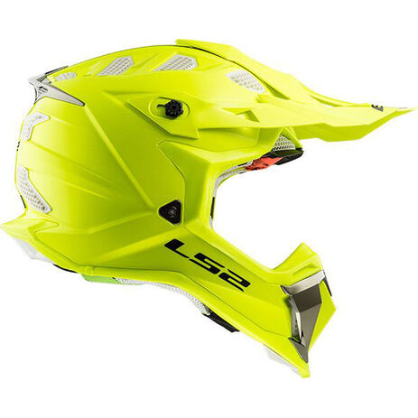 _LS2 MX470 Subverter Solid Helmet Yellow Fluo | 404701054P | Greenland MX_
