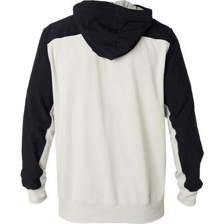 _Fox Axis Zip Fleece White/Black   21150-097-P   Greenland MX_