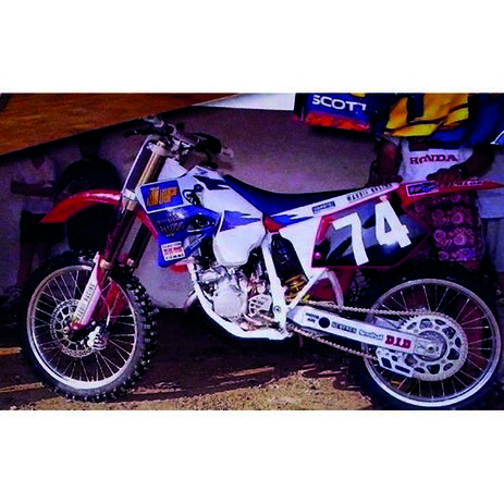 _Tecnosel Seat Cover Replica Team Honda MaddII 1995 Honda CR 125 93-97 CR 250 92-96   11V04   Greenland MX_