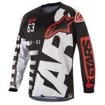 _Alpinestars Racer Braap 2018 Youth Jersey Black/White M | 3771418-123-M | Greenland MX_