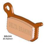 _Delta Front Brake Pads KTM SX 50 Pro Senior 02-13 SX 50 Senior 02-07 | DB2360 | Greenland MX_
