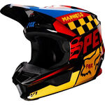 _Fox V1 Czar Youth Helmet | 21781-019-P | Greenland MX_