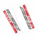 _Pro Circuit KYB Fork Decals | DCFDKYB-RED | Greenland MX_