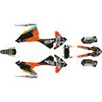 _KTM EXC/EXC-F 17-19 Full Sticker Kit WESS   SK-KTEXC1719WSBKOR-P   Greenland MX_