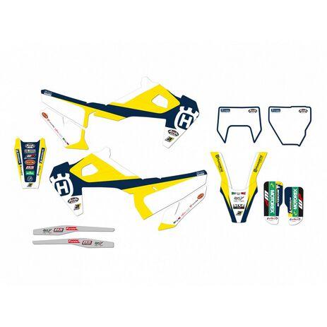 _Blackbird Replica Trophy Sticker Kit Husqvarna FC/TC 19-20 TE/FE 2020 | 2615R3 | Greenland MX_